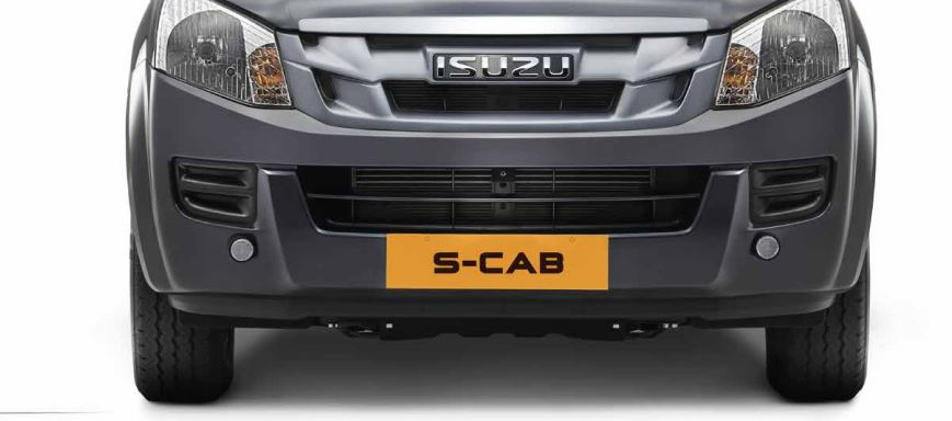 ISUZU D-MAX S-Cab Pickup Truck safety