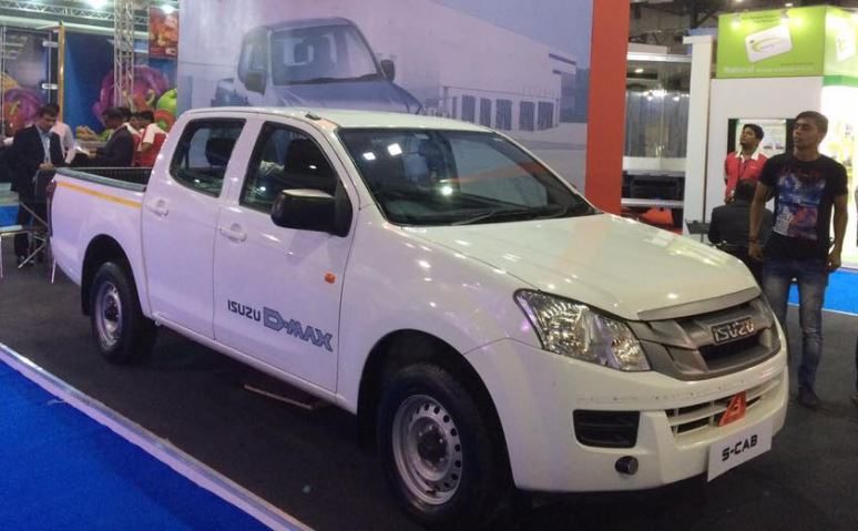 ISUZU D-MAX S-Cab Pickup truck Price List in India