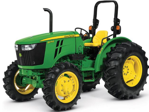 John Deere 5075E 4WD Tractor – Price & Specification