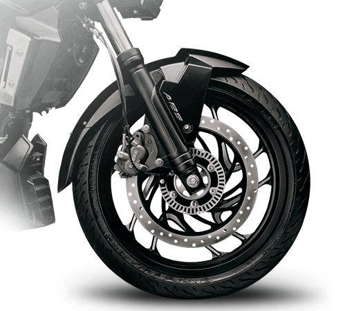 bajaj-dominar-400-brakes-and-tyre