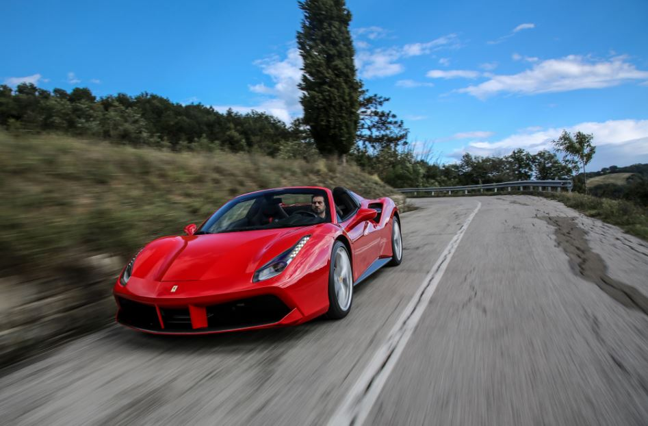 Ferrari 488 Spider Sports Car 1