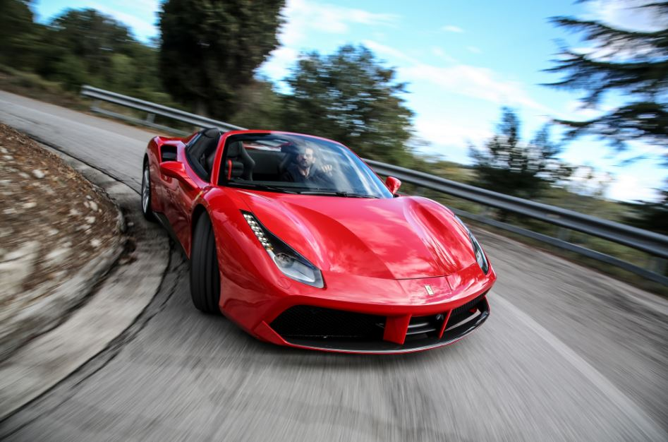 Ferrari 488 Spider Sports Car 14