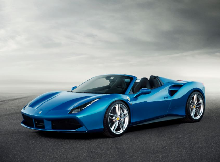 Ferrari 488 Spider Sports Car 15