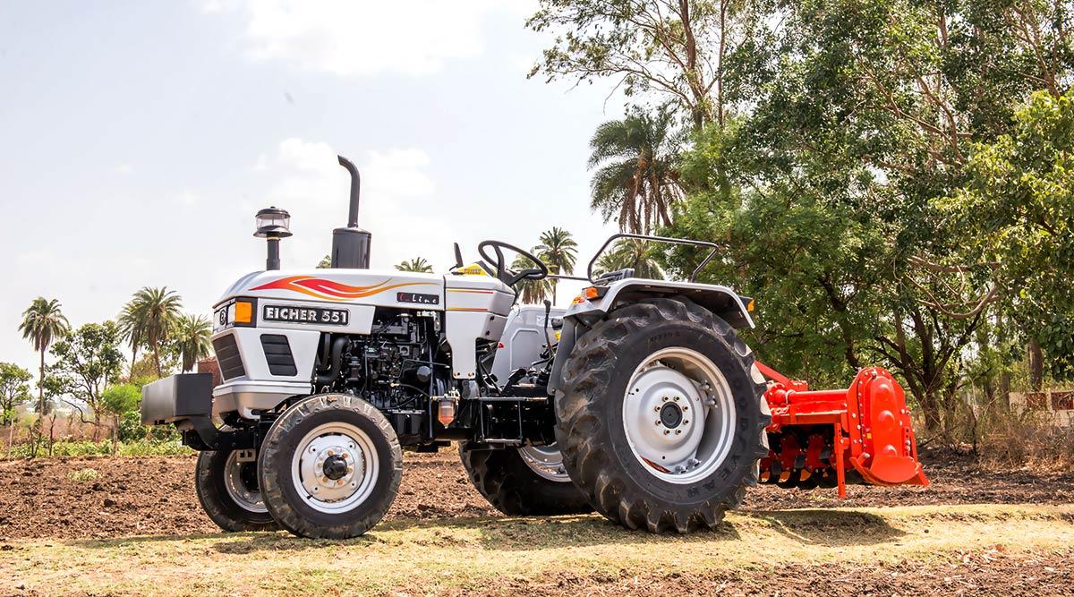 Eicher tractors price list