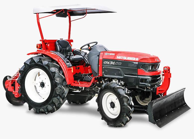 Latest Mitsubishi Tractors
