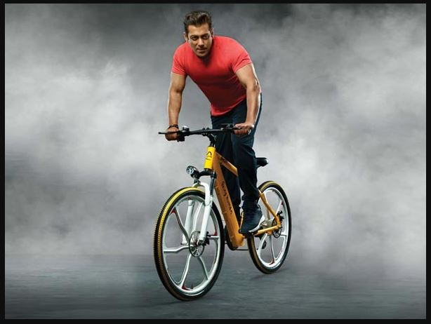 Salaman Khan Being Human BH 12 E-cycle