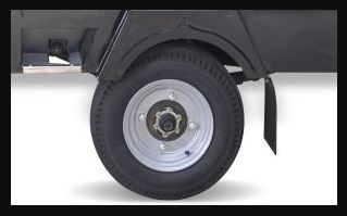 Atul Smart Pickup Van Highdeck wheels