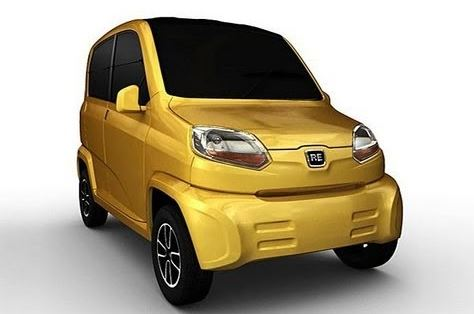 Bajaj Qute RE60 Small Car 4