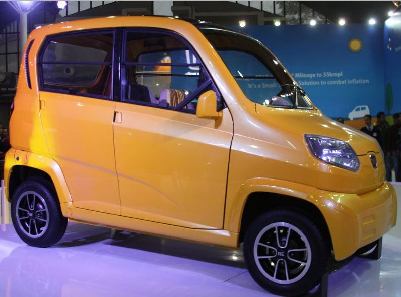 Bajaj Qute RE60 Small Car 5