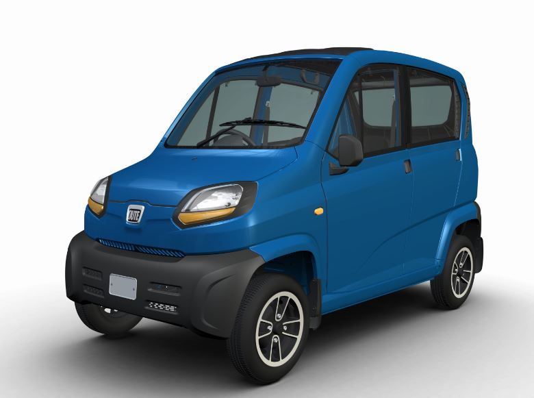 Bajaj Qute RE60 Small Car color 3