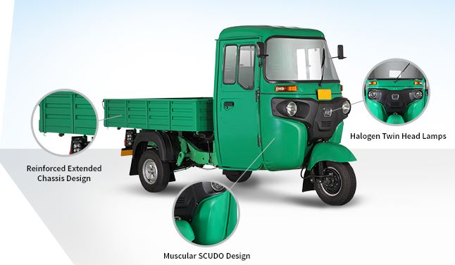 Bajaj RE Maxima Cargo Three Wheeler 8