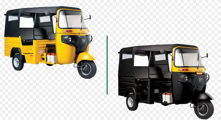 Bajaj RE Maxima diesel auto rickshaw colors