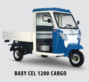Baxy CEL 1200 Cargo Loading Three Wheeler Price Specs Features Images