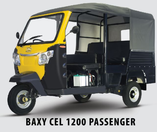 Baxy CEL 1200 Passenger Auto Rickshaw Price in India