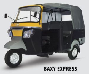 Baxy Express Auto Rickshaw Price INDIA