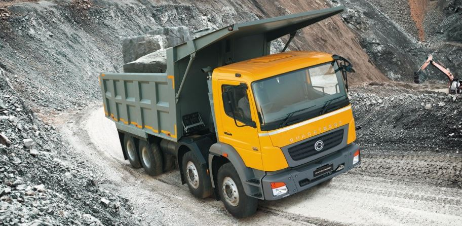 Bharat Benz 3128CM tipper Price in India