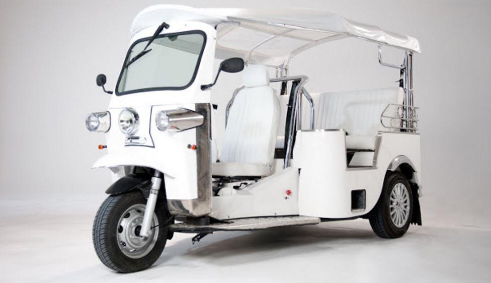 E-Tuk USA Classic Auto rickshaw 1