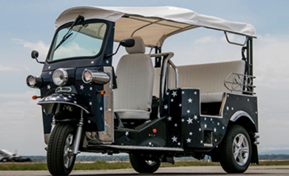 E-Tuk USA Classic Auto rickshaw 2