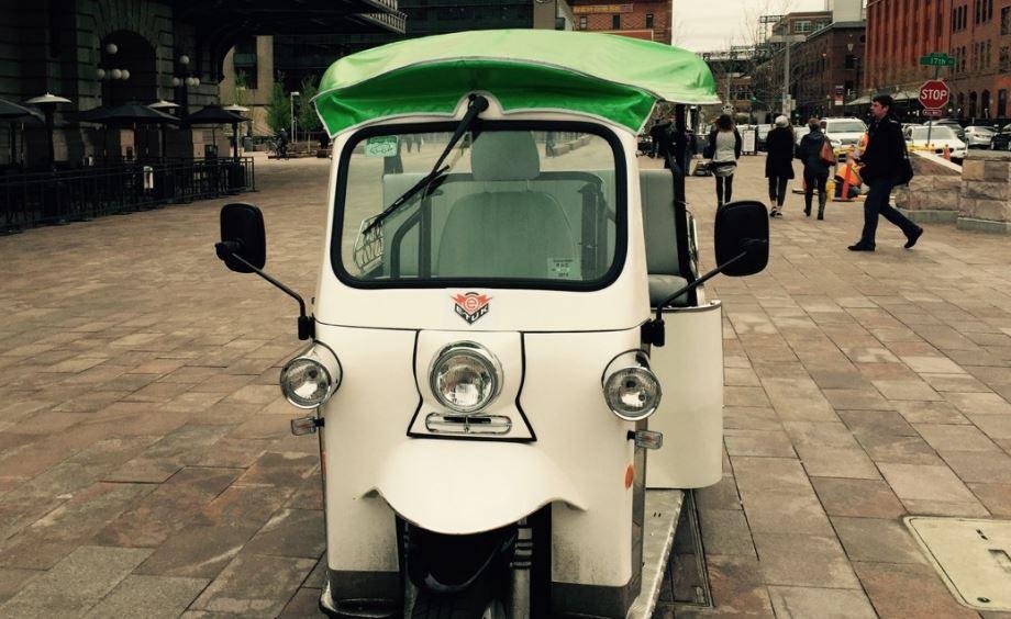 E-Tuk USA Classic Auto rickshaw 3