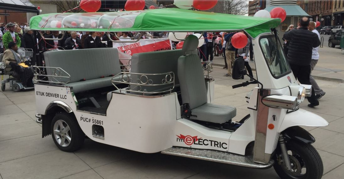 E-Tuk USA Limo Electric Auto rickshaw 3