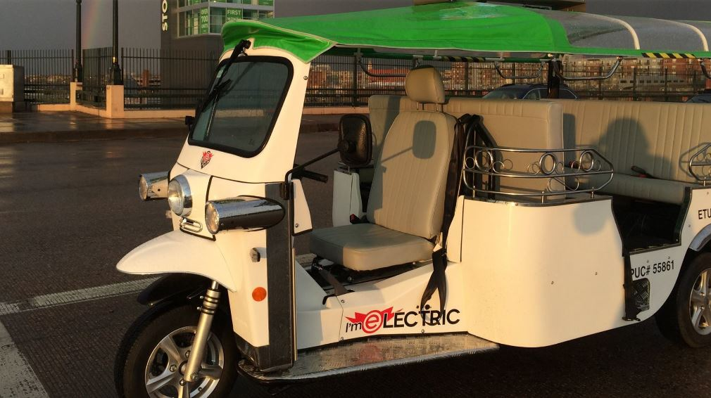 E-Tuk USA Limo Electric Auto rickshaw Main Facts