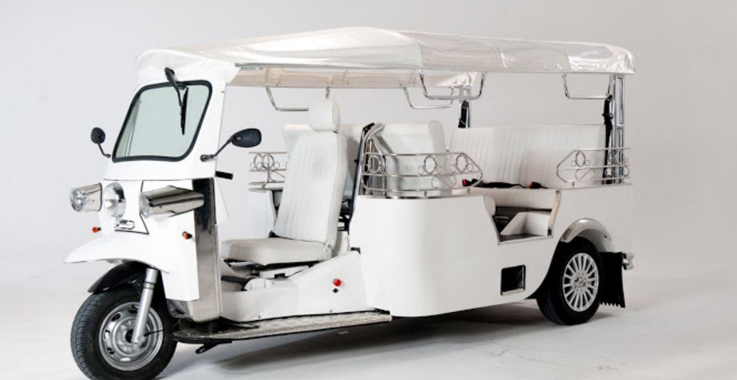 E-Tuk USA Limo Electric Auto rickshaw overview