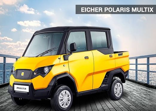 Eicher Polaris Multix car