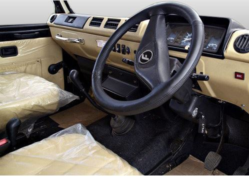 Force Motors Gurkha interior