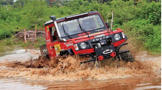 Force Motors Gurkha jeep 2