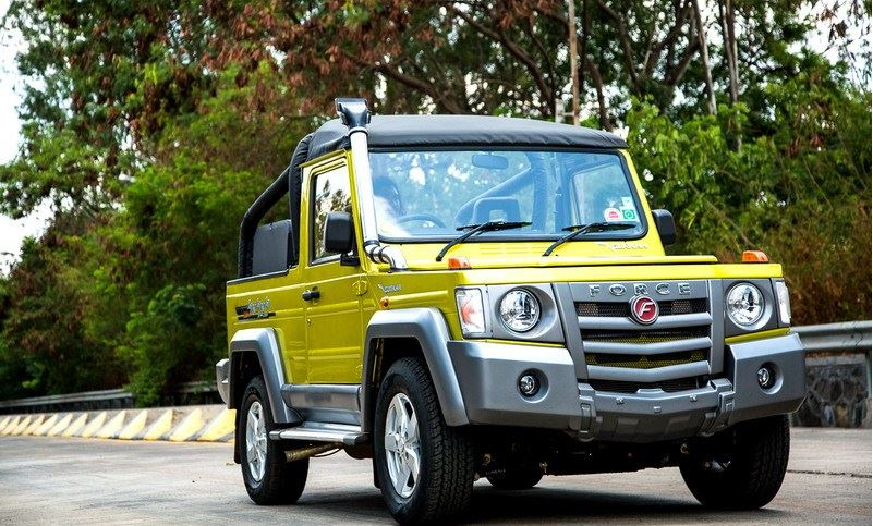 Force Motors Gurkha jeep 9