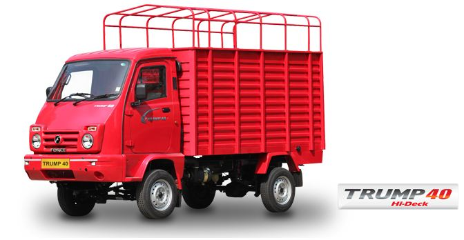 Force Motors Trump 40 Hi-Deck Mini Truck 1