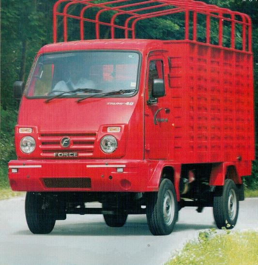 Force Motors Trump 40 Hi-Deck Mini Truck 2