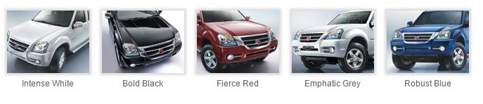 Force One SUV colors