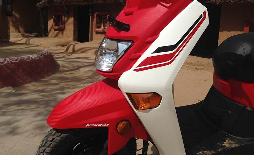 Honda Cliq Scooter Automatic Headlamp On