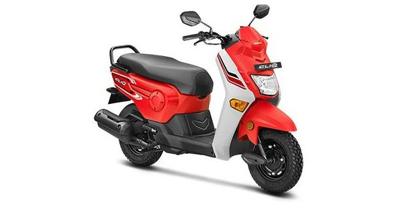 Honda Cliq Scooter Price in India