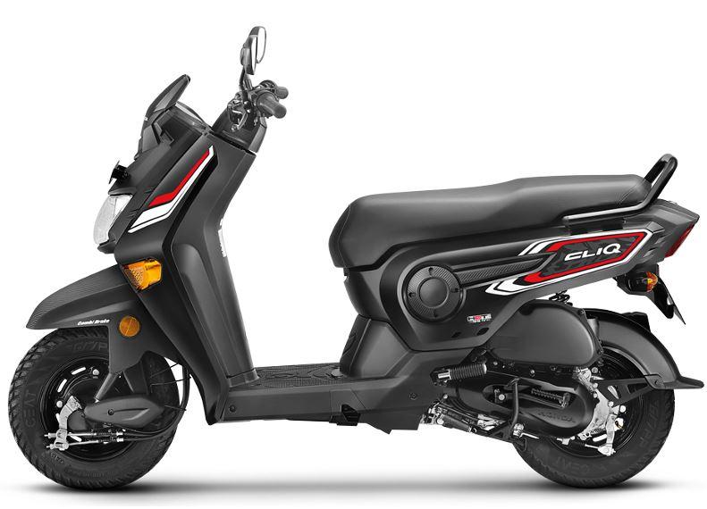 Honda Cliq Scooter brakes