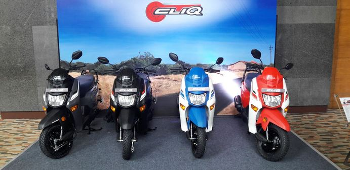Honda Cliq Scooter colors