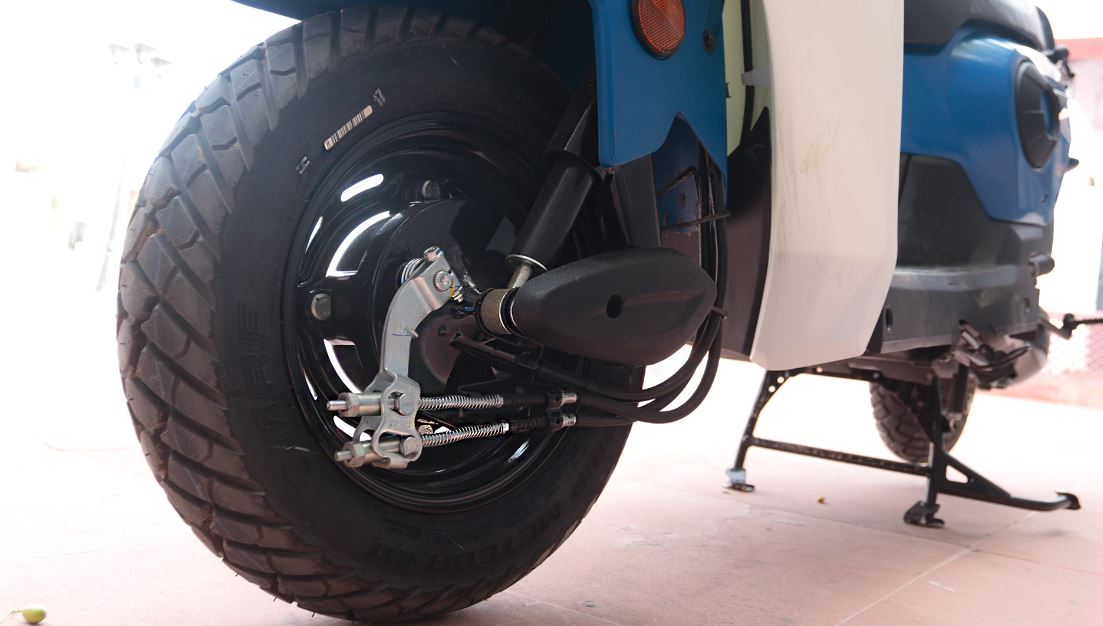 Honda Cliq Scooter tyre