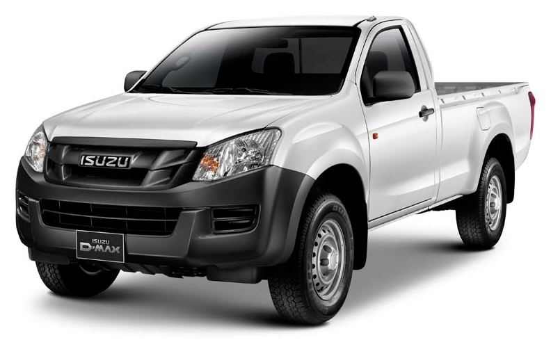 ISUZU D-MAX Regular Cab Pickup 2