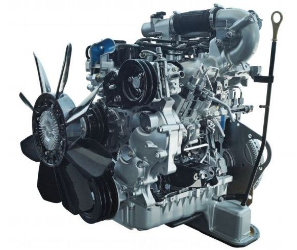 ISUZU D-MAX Regular Cab Pickup engine1