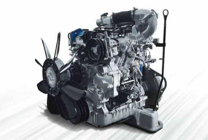ISUZU D-MAX S-Cab Pickup Truck engine