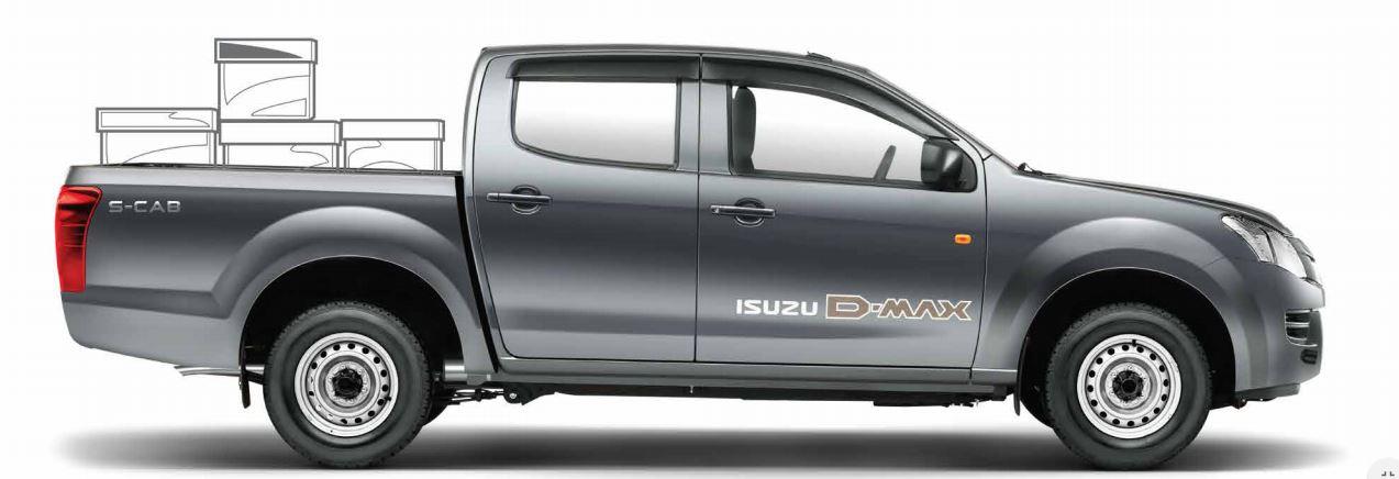 ISUZU D-MAX S-Cab Pickup truck comfort