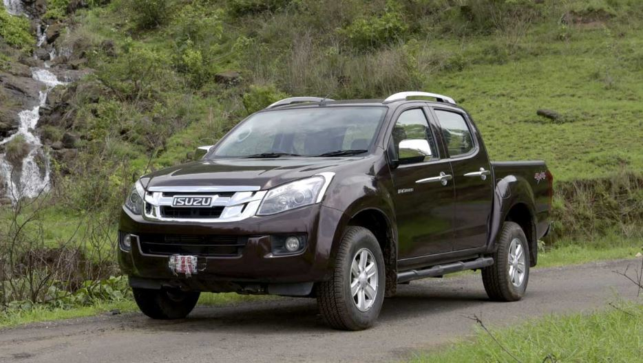 ISUZU D-MAX V-Cross Pickup Mini Truck Overview