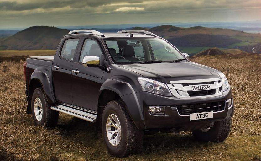 ISUZU D-MAX V-Cross Pickup truck design