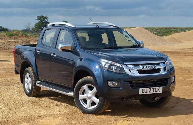 ISUZU D-MAX V-Cross Pickup truck performance