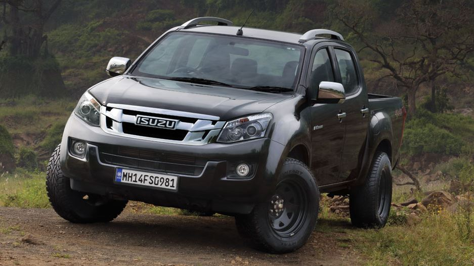 ISUZU D-MAX V-Cross Pickup truck safety