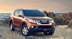 ISUZU MU-X 4 x 2 AT Car Ex-showroom Price List in India