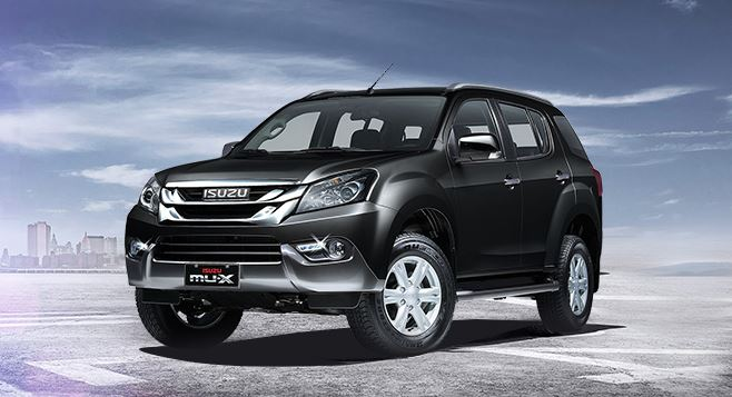 ISUZU MU-X Car Overview