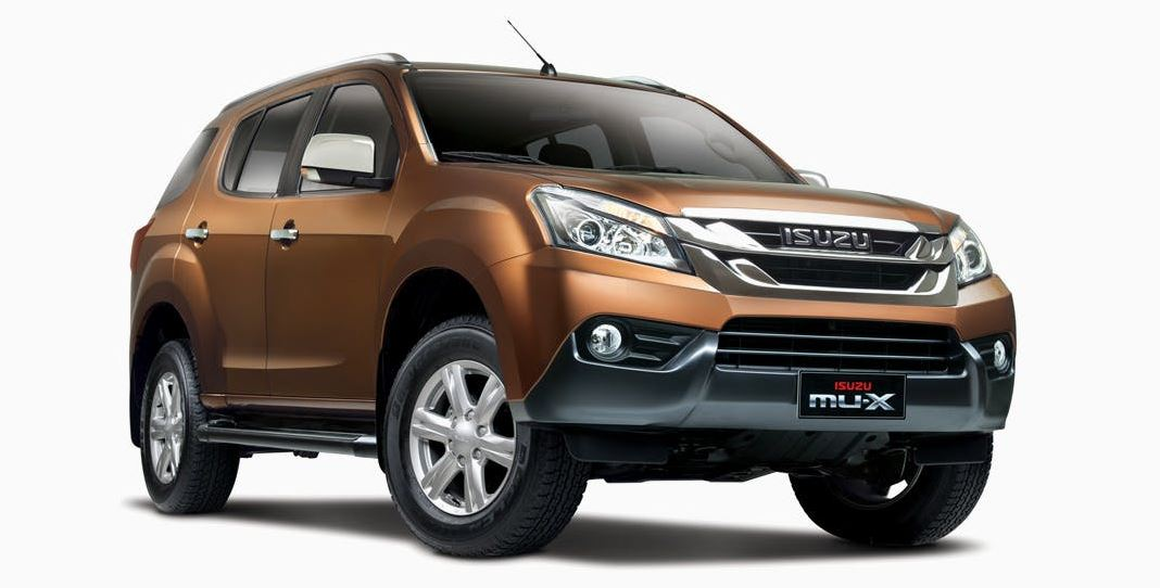 ISUZU MU-X Car Specifications