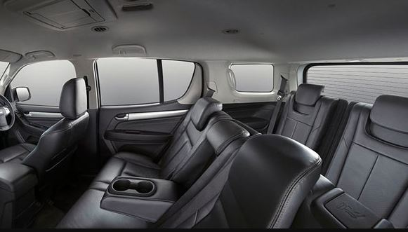 ISUZU MU-X Car seating